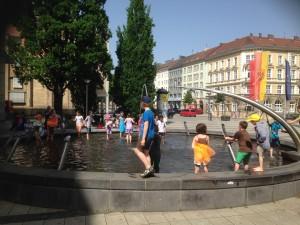 La Spezia Platz in Bayreuth